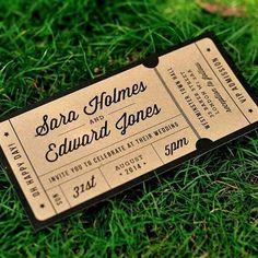 invitaciones de boda creativas 8