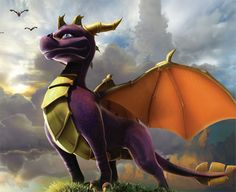 Spyro is so awesome! It's one of my all time favourite video games! ^_^.