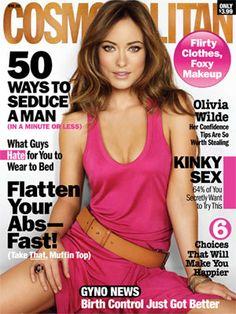 Cosmopolitan April 2011 #OliviaWilde