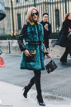 "fwspectator: ""Fashion Week Spectator | daily street style "" http://just-it-girl.tumblr.com/ Instagram: @justitgirl"