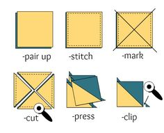 Image from http://thesewingloftblog.com/wp-content/uploads/2015/03/Half-Square-Triangles-4-time.jpg.