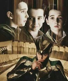 It's amazing how much the kid looks like Loki! The casting guy chose well!