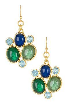 Seaglass Earrings- pretty