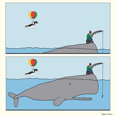 "Donkey ""Tino"" & Co. The Whale Revenge! by Federico Monzani"