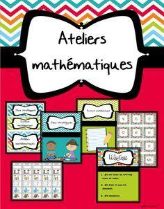 Page 1 of 17 Teaching Tools, Teaching Math, Maths 3e, Daily Math, French Classroom, 1st Grade Math, Grade 2, New Class, Math For Kids
