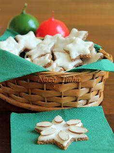 Estrelas de canela (zimtsterne) » NacoZinha - Blog de culinária, gastronomia e flores - Gina