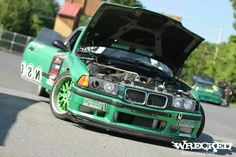 BMW E36 3 series green
