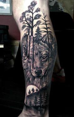 mannelijke wolf poot tattoo - # been - tatuagem feminina costas - Wolf Tattoos Men, Native Tattoos, Love Tattoos, Beautiful Tattoos, Small Tattoos, Tattoos For Guys, Wolf Tattoo Forearm, Forarm Tattoos, Leg Tattoo Men