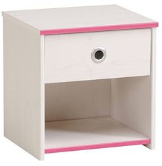Parisot 2223CH1T Contemporary Smoozy Night Table - Furnitures < Kids Furniture < Kids Nightstands