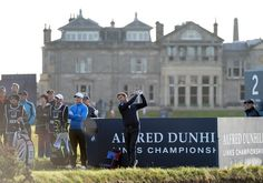 The Alfred Dunhill Links Championship started today! Who are you cheering for?
