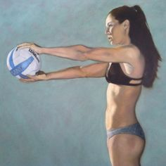 """Jenna-oil on canvas. 36""""x36"""""""