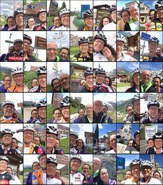 The selfies on (most of) the summits. Alps, Selfies, Baseball Cards, Italia, Selfie