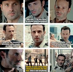 Rick Grimes and his hat