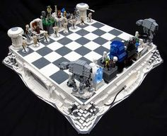 Well my life is complete, I found a way to merge my nerdy chess skills and my nerdy love of Star Wars:)