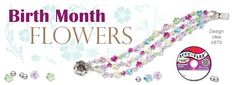Birthstones have long been used as a way to customize jewelry. There is more to a birth month than stones though, such as #flowers: