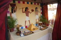 Ancient Egypt Dessert table