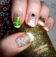 23 Christmas Nail Art