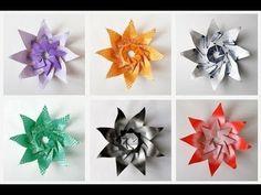 Origami Maniacs: Origami Modular Lily Star by Leonor Martinez