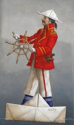 Catherine Chauloux   ACRYLIC | Le  Capitaine