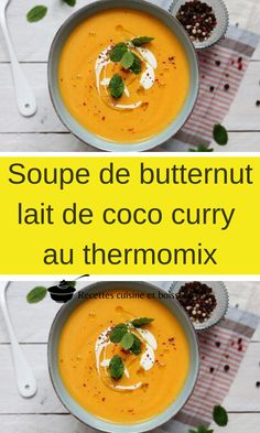Coco Curry, Pumpkin Varieties, Magimix Cook, Butternut Soup, Thai Soup, Thai Red Curry, Food And Drink, Cooking, Ethnic Recipes