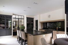 Modern Home Decor Kitchen Kitchen Interior, Home Decor Kitchen, Rustic Kitchen Design, Kitchen Decor, Contemporary Kitchen Design, Contemporary Kitchen, Home Kitchens, Rustic Kitchen, Kitchen Design