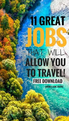 Want to score a great and AND have the freedom to travel the world?! Here are 11 positions that will allow you to travel!