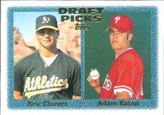 1997 Topps #479 Eric Chavez / Adam Eaton Front