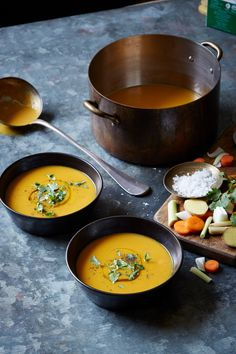 Make this Lemongrass Ginger Carrot Soup recipe with warming spices and gut-healing bone broth for a perfect winter pick-me-up.