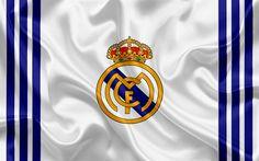Download imagens O Real Madrid, Clube de futebol espanhol, emblema, O Real Madrid logo, La Liga, Real Madrid, Espanha, LFP, Espanhol Campeonatos De Futebol