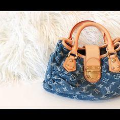 I just added this to my closet on Poshmark: Louis Vuitton Denim Purse. Price…