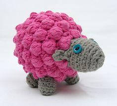 Bobble Sheep by Just Add Crochet (Emma Field) - free pattern