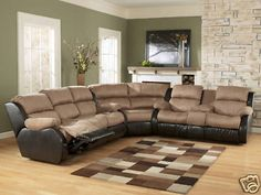 1000 Images About Sectional On Pinterest Reclining Sectional Reclining So