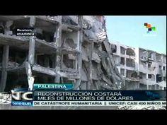 Bombardeos israelitas han destruido 10600 viviendas en Gaza