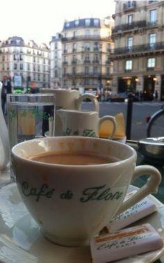 Ana Rosa, lilyadoreparis: Café de Flore, Paris