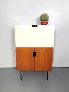 Vintage Dutch design cabinet kast Pastoe Cees Braakman CU07 Interior Inspiration, Design Inspiration, Mid Century Furniture, Cabinet, Midcentury Modern, Sideboard, Home Accessories, Interior Design, Storage