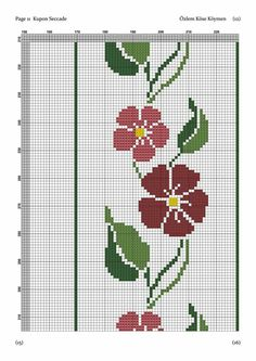 Cross Stitch Borders, Cross Stitch Designs, Cross Stitch Patterns, Prayer Rug, Filet Crochet, Crochet Flowers, Elves, Table Runners, Embroidery Stitches