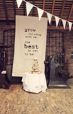 omg - I haven't thought about large backdrops, this would compliment the Village Hall beautifully. A MUST GIRLS!! :) @Tom John Powell hope you like xxx