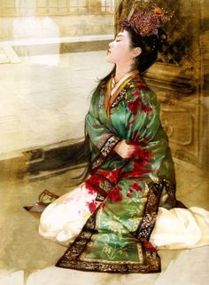 Derzhen (Abraxsis) [德珍繪館 or Jiang Qing Yi or Der Jen], a woman-paiter, was born in 1974 in Taipei (Taiwan)