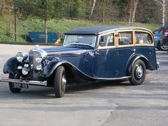 1934 Bentley 3-1/2 litre Shootingbrake