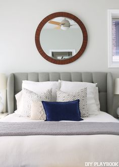 Pretty New Items for our Master Bedroom. #landgathome via @diyplaybook