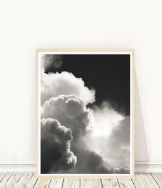 Abstract Art Print - Clouds Black and White Photo - Printable Art Print out on your own computer instantly,or take it to your local print/photo Clouds Photography, Kitsch, Abstract Photos, Abstract Art, Black And White Artwork, Cloud Art, Scandinavian Art, Modern Wall Art, Medium Art