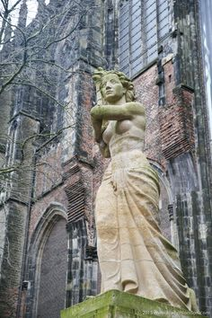 Sculpture in Utrecht, Netherlands