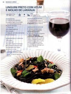 150 receitas - As melhores de 2012 Soul Food, Menu, Cooking, Recipes, Illustrated Recipe, Tuna, Rice, Food, Beverages