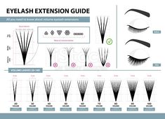 Obtain this Eyelash Extension Information Quantity Eyelash Extensions Quantity Ideas And Tips Infographic Vector Illustration Template For Make-up And Beauty Procedures Coaching Poster vector illustration now. And search extra of iStock's library Eyelash Studio, Eyelash Salon, Eyelash Tips, Eyelash Glue, Eyelash Curler, Eyelash Extensions Styles, Volume Lash Extensions, Individual Eyelash Extensions, Individual Lashes