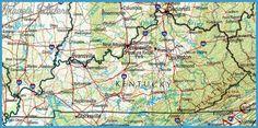Lexington-Fayette Map Tourist Attractions