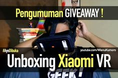 Video unboxing kacamata #VR dari #Xiaomi! Dan jg ada pengumuman pemenang Giveaway novel #Bristol dari @vincacallista!  Link di Bio.  #Youtube #youtubersindonesia #vlog #vlogger #dagelan #vincacallista #vincfiction #novel #booktube #booktuber #booktuberindonesia #unboxing #xiaomiindonesia #miindonesia #xiaomivr #reviewgadget
