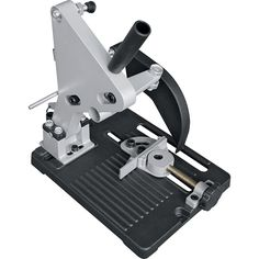 The Klutch Grinder Holder securely holds your 4 or angle grinder for better control of the cutting wheel, essentially turning your grinder into a mini chop saw for precise cutting of pipe, rebar or tubing. Woodworking Workshop Layout, Woodworking Power Tools, Antique Woodworking Tools, Rockler Woodworking, Woodworking Logo, Easy Woodworking Projects, Unique Woodworking, Woodworking Patterns, Woodworking Machinery