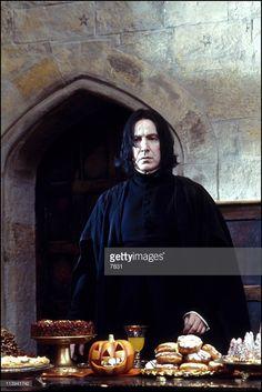 November, 2001-Professor Snape (Alan Rickman).