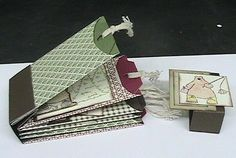 Terry Ann Diack -Just a TAD Crafty: accordian mini album