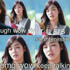 SNSD Tiffany meme ugh wow rly